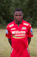 20150626 - OOSTENDE, BELGIUM: Oostende's Gohi Bi Cyriac pictured during the 2015-2016 season photo shoot of Belgian first league soccer team KV Oostende, Friday 26 June 2015 in Oostende. BELGA PHOTO KURT DESPLENTER