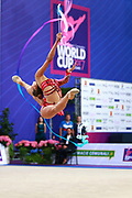Aleksandra Soldatova is a Russian individual rhythmic gymnast born in 1998.<br /> Her Nickname for the friends is Sasha.