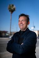 May 12, 2021. Sherman Oaks, California. Hollywood Casting Director, Matthew Barry, at his Sherman Oaks studio.<br /> copyright John Chapple / www.JohnChapple.com