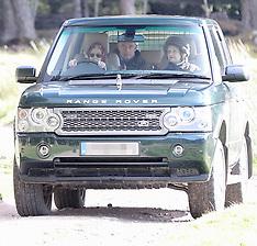 Queen Elizabeth II stops her car to feed her horses- 24 Sep 2018