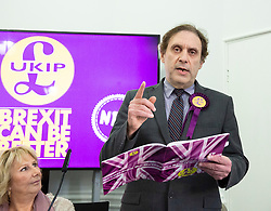 Freddy Vachha named as the new leader of UKIP <br /> embargo'd until 1130am on Monday 22nd June 2020. <br /> <br /> <br /> UKIP launch their General Election Manifesto<br /> At Church House, London, Great Britain<br /> 2nd December 2919<br /> Hosted by Interim Leader Patricia Mountain<br /> <br /> <br /> Speech by<br /> Freddy Vachha (UKIP regional Chairman and National Campaign manager)<br /> <br /> <br /> Photograph by Elliott Franks