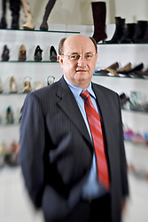 O presidente da Calçados Beira Rio, Sr. Roberto Argenta, eleita a melhor empresa do ano 2009 no setor de têxteis. FOTO: Jefferson Bernardes / Preview