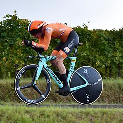 25-09-2020: wielrennen: WK tijdrit mannen: Imola <br />Jos van Emden