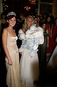 Anastasia Gorbachev and Petra Ecclestone. Crillon 2004 Debutante Ball. Crillon Hotel. Paris. 26 November 2004. ONE TIME USE ONLY - DO NOT ARCHIVE  © Copyright Photograph by Dafydd Jones 66 Stockwell Park Rd. London SW9 0DA Tel 020 7733 0108 www.dafjones.com