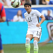 Ali Krieger, U.S. Women's National Team, in action during the U.S. Women's National Team Vs Korean Republic, International Soccer Friendly in preparation for the FIFA Women's World Cup Canada 2015. Red Bull Arena, Harrison, New Jersey. USA. 30th May 2015. Photo Tim Clayton