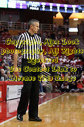 03 February 2018:   during a College mens basketball game between the Evansville Purple Aces and Illinois State Redbirds in Redbird Arena, Normal IL