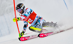 13.11.2016, Black Race Course, Levi, FIN, FIS Weltcup Ski Alpin, Levi, Salalom, Herren, 1. Lauf, im Bild Marc Digruber (AUT) // Marc Digruber of Austria in action during 1st run of mens Slalom of FIS ski alpine world cup at the Black Race Course in Levi, Finland on 2016/11/13. EXPA Pictures © 2016, PhotoCredit: EXPA/ Nisse Schmidt<br /> <br /> *****ATTENTION - OUT of SWE*****