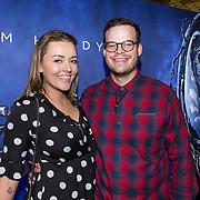 NLD/Amsterdam/20181003 - IMAX 3D vertoning Venom, Mascha Feoktistova en partner Gregor