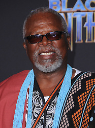January 29, 2018 - Hollywood, CA, U.S. - 29 January 2018 - Hollywood, California - John Kani. Marvel Studios' ''Black Panther'' World Premiere held at Dolby Theater.  (Credit Image: © Birdie Thompson/AdMedia via ZUMA Wire)