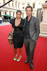 TRACEY EMIN and SCOTT DOUGLAS at the Royal Academy of Art Summer Exhibition Preview Party on 4th June 2008.<br /><br />NON EXCLUSIVE - WORLD RIGHTS