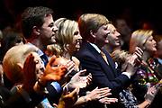 Koninkrijksconcert 2013 in het Circustheater in Scheveningen / Kingdom Concert 2013 at the Circus Theatre in Scheveningen<br /> <br /> Op de foto / On the photo:  Koning Willem-Alexander en koningin Maxima met Prinses Beatrix / KingWillem-Alexander  and Queen Maxima with Princess Beatrix