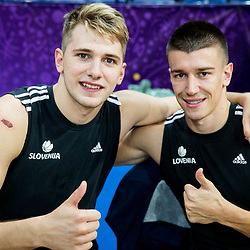 20170830: FIN, Basketball - FIBA EuroBasket 2017, Training of Team Slovenia