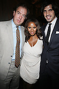 14 June 2010- Harlem, New York- l to r: Mark Cornell, Marvet Britto and Nacho Figueras at The Apollo Theater's 2010 Spring Benefit and Awards Ceremony hosted by Jamie Foxx inducting Aretha Frankilin and Michael Jackson, and honoring Jennifer Lopez and Marc Anthony co- sponsored by Moet et Chandon which was held at the Apollo Theater on June 14, 2010 in Harlem, NYC. Photo Credit: Terrence Jennngs/Sipa