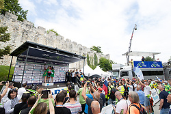 Matteo Pelucchi of Bora Hansgrohe at ceremony after 3rd Stage of 25th Tour de Slovenie 2018 cycling race between Slovenske Konjice and Celje (175,7 km), on June 15, 2018 in  Slovenia. Photo by Matic Klansek Velej / Sportida
