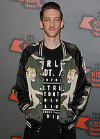 Sigala, Kiss FM Haunted House Party 2016 - VIP Arrivals, The SSE Arena Wembley, London UK, 27 October 2016, Photo by Brett Cove
