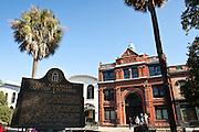 Old Cotton Exchange building in Savannah, Georgia, USA.