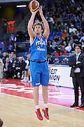 DESCRIZIONE : Pesaro Edison All Star Game 2012<br /> GIOCATORE : Nicolo Melli<br /> CATEGORIA : tiro three points<br /> SQUADRA : Italia Nazionale Maschile<br /> EVENTO : All Star Game 2012<br /> GARA : Italia All Star Team<br /> DATA : 11/03/2012 <br /> SPORT : Pallacanestro<br /> AUTORE : Agenzia Ciamillo-Castoria/C.De Massis<br /> Galleria : FIP Nazionali 2012<br /> Fotonotizia : Pesaro Edison All Star Game 2012<br /> Predefinita :