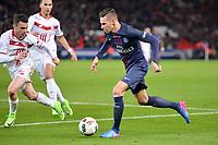 23 Julian DRAXLER (psg) - 02 SEBASTIEN CORCHIA (lil)<br /> FOOTBALL : Paris SG vs Lille - Ligue 1 - 07/02/2017<br /> Norway only