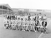The London team before the All-Ireland Senior B Hurling Championship Antrim v London at Croke Park on the 25th of June 1978. Antrim 1-16 London 3-7.