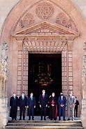 062921 King Felipe attends the opnieng of 'Las Edades del Hombre' exhibition