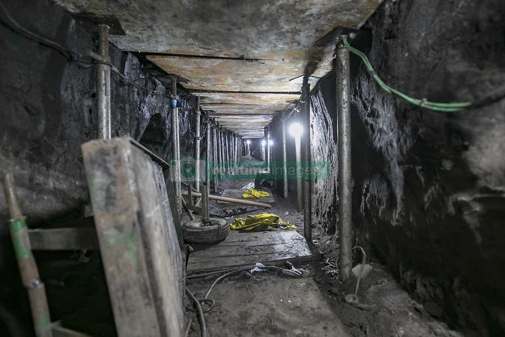 October 3, 2017 - Sao Paulo, Sao Paulo, Brazil - Oct, 2017 - Sao Paulo, Sao Paulo, Brazil - Brazilian police discovered a 500-meter-long tunnel linking a house to the Banco do Brasil's safe in the city of Sao Paulo. 16 people suspected of participating in the construction of this tunnel were arrested and according to Brazilian authorities the gang intended to steal close to 1 billion reais (approximately 317 million dollars) (Credit Image: © Marcelo Chello/CJPress via ZUMA Wire)