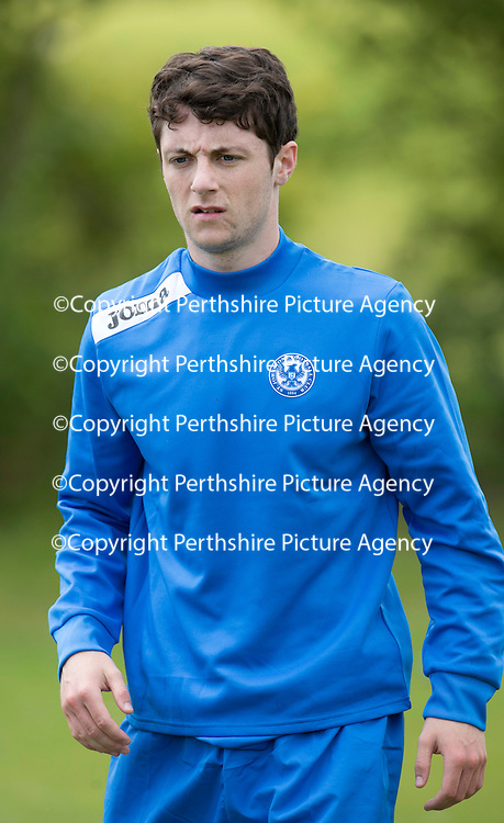St Johnstone Training,,,,01.07.13<br /> Trialist Neil Lowry pictured in training this morning...<br /> Picture by Graeme Hart.<br /> Copyright Perthshire Picture Agency<br /> Tel: 01738 623350  Mobile: 07990 594431