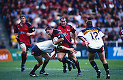 Mark Hammett in action during the Super 12 rugby union match between the Crusaders and the Brumbies, 31 March, 2002. Photo: PHOTOSPORT *** Local Caption ***