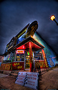 This is The Beaver House Downtown Grnad Marias form A series of photos capturing the stark surreal  beauty of Grand Marais Mn. The Beaver House Grand Marais