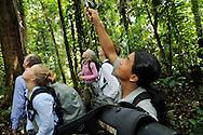 Ecotourism, guide Delfin, Ecuador, Rio Napo Wildlife centre reserve,