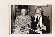 MR AND MRS. ALEXANDER POLIAKOFF, wine tasting. Nov 83.