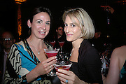JOANNA GEORGE AND EMILY MAITLIS, Montblanc and Katherine Jenkins celebrate The launch of Montblanc's First Fine Jewellery Collectgion. V. & A. London. 24 April 2007.  -DO NOT ARCHIVE-© Copyright Photograph by Dafydd Jones. 248 Clapham Rd. London SW9 0PZ. Tel 0207 820 0771. www.dafjones.com.