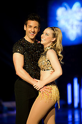 Dancing on Ice Photocall Sheffield Motorpoint Arena .Colin Ratushniak and Laura Hamilton..7 April 2011.Images © Paul David Drabble