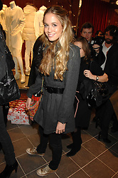 FLORENCE BRUDENELL-BRUCE at a party to celebrate the opening of the new Uniqlo store at 331 Oxford Street, London W1 on 6th November 2007.<br /><br />NON EXCLUSIVE - WORLD RIGHTS