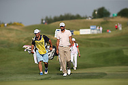 Carlos Del Moral (ESP)  heading down the 9th during Round One of the 2015 Alstom Open de France, played at Le Golf National, Saint-Quentin-En-Yvelines, Paris, France. /02/07/2015/. Picture: Golffile | David Lloyd<br /> <br /> All photos usage must carry mandatory copyright credit (© Golffile | David Lloyd)