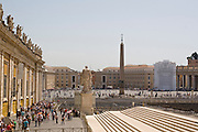 Italy, Rome, Vatican, St. Pietro (St Peter's) square