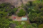 Siloama Church, 1885 ,Kalaupapa Peninsula, Molokai, Hawaii