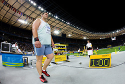 Miroslav Vodovnik of Slovenia competes in the men's Shot Put Final event of the 2009 IAAF Athletics World Championships on August 15, 2009 in Berlin, Germany. (Photo by Vid Ponikvar / Sportida)