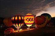 Statesville Balloon Festival.  North Carolina.