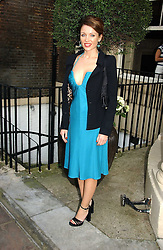 DANNII MINOGUE at the annual Michele Watches Summer Party held in the gardens of Home House, 20 Portman Square, London W1 on 15th June 2006.<br /><br />NON EXCLUSIVE - WORLD RIGHTS