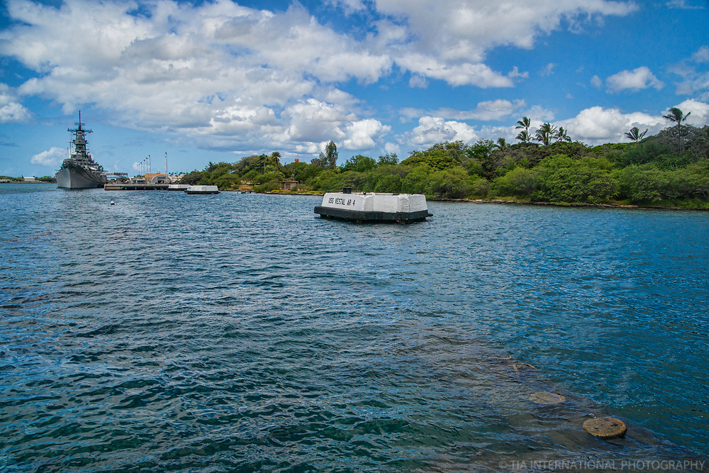Battleship Missouri Memorial, USS Vestal Quay & Ford Island, Pearl Harbor