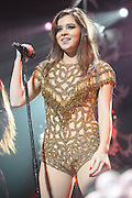 HAILEE STEINFELD performs at the Hot 99.5 Jingle Ball at the Verizon Center in Washington, D.C.