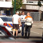 Aanhouding na ongeval Naarderstraat Huizen