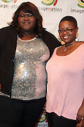 25 August New York, NY- l to r: Actress Gabourey Sidibe and Moikgansti Kgama, Founder, Imagenation Cinema Foundation at the Imagenation Cinema Foundation Screening of '  Yelling to the Sky ' presented by the Imagenation Cinema Foundation and The Film Society of Lincoln Center held at the Walter Reade Theater at Lincoln Center on August 25, 2011 in New York, NY. Photo Credit: Terrence Jennings