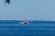 Republic Seabee landing at the Seaplane base, Airventure 2017.