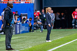 15-06-2019 FRA: Netherlands - Cameroon, Valenciennes<br /> FIFA Women's World Cup France group E match between Netherlands and Cameroon at Stade du Hainaut / Coach Sarina Wiegman