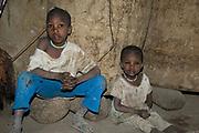 Datoga children.  Lake Eyasi, northern Tanzania.
