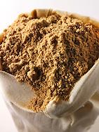 Ground Coriander powder - stock photos