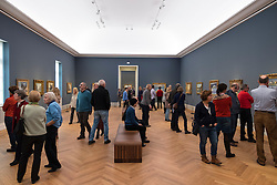Visitors at new Museum Barberini in Potsdam Germany