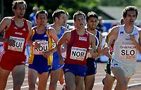 Friidrett<br /> 21. Juni 2009<br /> European Team Championships 1. st Leauge<br /> Fana Stadion<br /> 1500 m<br /> Morten Velde , Norge tok<br /> Foto : Astrid M. Nordhaug