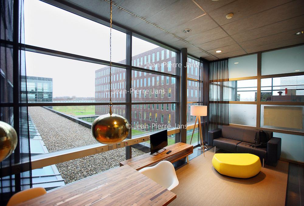 Nederland, Hoofddorp , 14 januari 2015.<br /> 1 van de nieuwe familiekamers binnen het Spaarneziekenhuis.<br /> Foto:Jean-Pierre Jans
